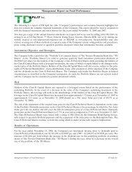09ZAL10503 - Cycle 2 - TD Securities