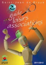 Guide associations et loisirs 2011 / 2012 (pdf - 1 - Ville de Saint ...
