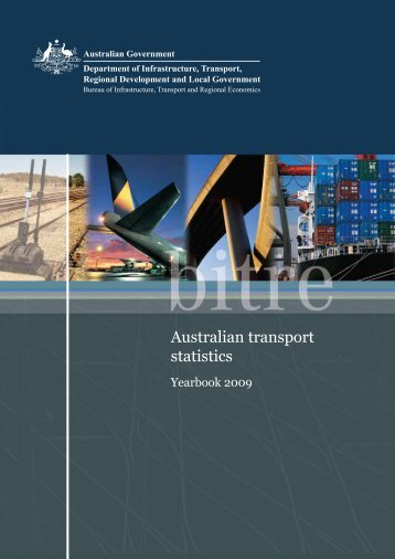 PDF: 4209 KB - Bureau of Infrastructure, Transport and Regional ...