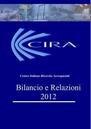 Bilancio e Relazioni 2012.pdf - Cira