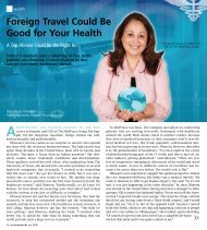 Foreign Travel Could Be Good for Your Health - Don't Mess With ...