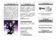 HAUSWIRTSCHAFT - BBS-Holzminden