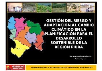 Gestión del Riesgo y Adaptación al Cambio Climático en la ...