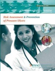 Risk Assessment & Prevention of Pressure Ulcers