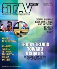 ITAV REPORT - Sound & Communications