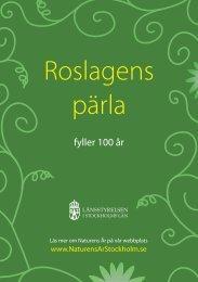 Dagens program (.pdf) - Länsstyrelsen i Stockholms län