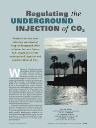 Regulating the UNDERGROUND INJECTION of CO2 - David Keith