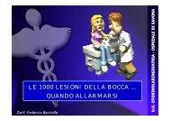 le 1000 lesioni della bocca - Azienda Sanitaria Locale n° 2 Savonese