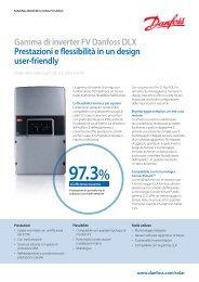 Gamma di inverter FV Danfoss DLX Prestazioni e ... - Guida Edilizia