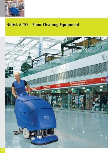 Nilfisk-ALTO – Floor Cleaning Equipment