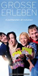 «liechtenstein all inclusive»