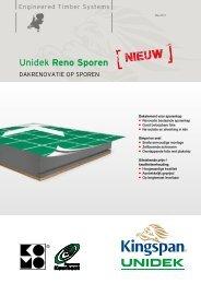Technische brochure Unidek Reno Sporen