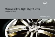 Mercedes-Benz Light-alloy Wheels Current Car Series