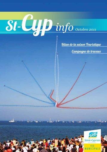 St-CypinfoOctobre 2011 - Ville de Saint Cyprien