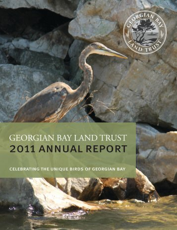 2011 ANNUAL REPORT - Georgian Bay Land Trust