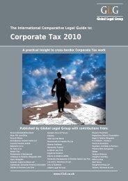 Corporate Tax 2010 - P+P Pöllath + Partners