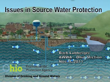 Issues in Source Water Protection - Ohiowater.org