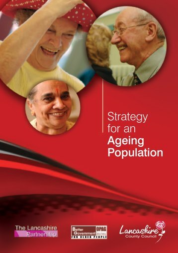 Strategy for an Ageing Population - Lancashire County Council