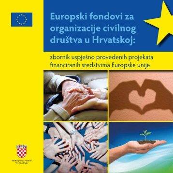 Europski fondovi za organizacije civilnog društva u Hrvatskoj: - SAFU