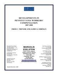 Compensation Newsletter - January 2009 - Margolis Edelstein