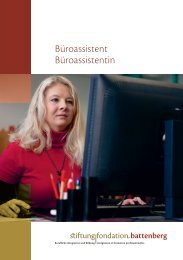 Büroassistent/in - Stiftung Fondation Battenberg