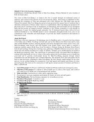 Establishment of Bodh-Gaya Branch Clinic of Men-Tsee-Khang ...