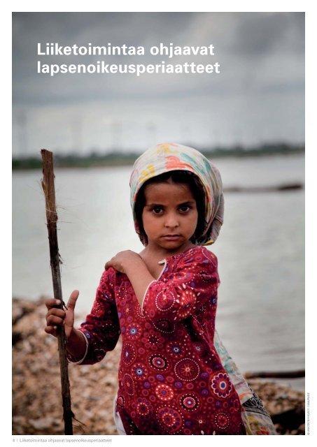 Liiketoimintaa ohjaavat lapsenoikeusperiaatteet -julkaisu
