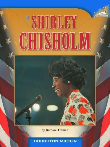 Lesson 22:Shirley Chisholm