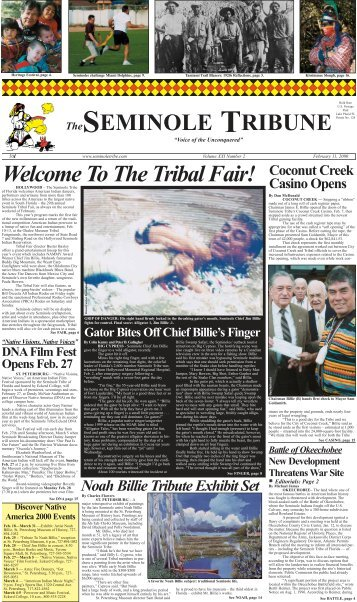 The Tribal Fair! - Seminole Tribe of Florida