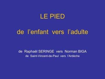 LE PIED - SOFOP