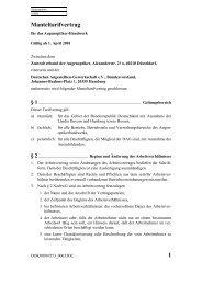 1 Manteltarifvertrag - Fachbereich Medien, Kunst und Industrie
