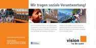 Flyer zum Download - Vision for the World