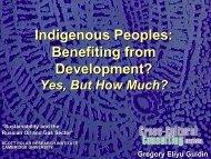 Indigenous Peoples - Scott Polar Research Institute
