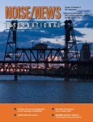 Volume 19, Number 3, September, 2011 - Noise News International