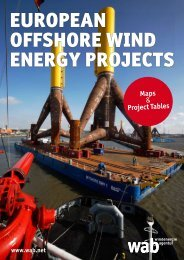 EUROPEAN OFFSHORE WIND ENERGY PROJECTS - wab.biz