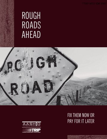 Rough Roads Ahead - Michigan Tech Tribal Technical Assistance ...