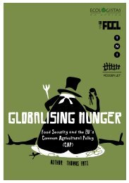 Globalising Hunger - Transnational Institute