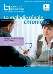 La maladie rénale chronique - Société de néphrologie