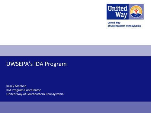United Way PowerPoint Presentation Template