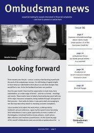 Ombudsman News Issue 83 - Financial Ombudsman Service