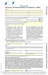 Verträge zum DTF Rendite Container USD ... - Finest Brokers GmbH