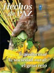 Revista Hechos de Paz N.64 - Programa de las Naciones Unidas ...