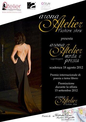 bando arona atelier 2012.pdf - Concorsi Letterari