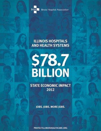 Illinois Hospitals and Health Systems $78.7 Billion State Economic ...