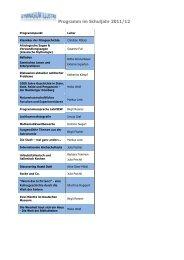 Programm gymnasium illustre 2011 und 2012.pdf - GCE Bayreuth