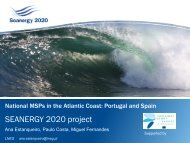 Spain and Portugal - Seanergy 2020