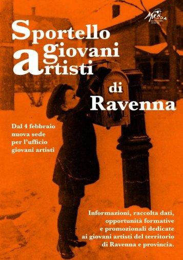 Ufficio Giovani Artisti - Ravenna - Informagiovani Ravenna