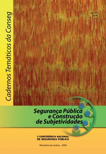 Cadernos Temáticos da Conseg - Conselho Federal de Psicologia