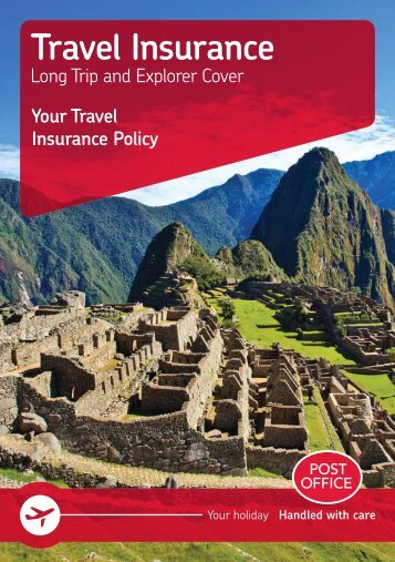 Travel Insurance - Post Office