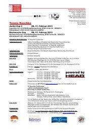 2. Junior Cup - Tennis Raschke